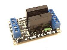 2-Kanal Solid State Relais Modul für Arduino | 5V | 240V 2A | SSR