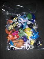 NEW 24 Piece Pokemon Plastic Mini Figures Collector Cupcake Topper Toys