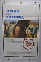 1972 A Prime Cut Original 1SH Movie Poster 27 x 41 Lee Marvin Gene Hackman