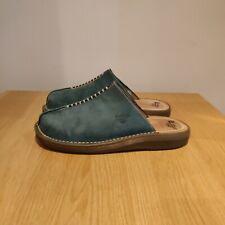 Dr Martens Vintage Blue Suede Clogs Sandals Size UK 5 EU 38 Made In Portugal