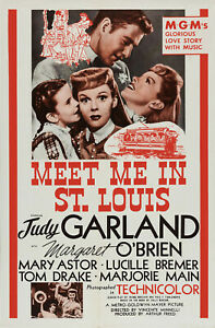 Meet Me In St. Louis Movie Poster Print & Unframed Canvas Prints