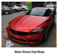 M CAR WRAPPING PELLICOLA VINILE RED AUTO FILM VERNICE PLASTICA 1,52 mt x 20 mt