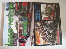 **aa Loco Revue n°407 dépôt vapeur et ses installations / fourgon Dd 4 S