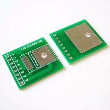 10 PCS TO263-8 Adapter PCB Board Converter D2-PAK to DIP 2.54mm Convertor B64