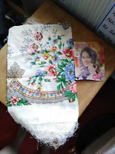 Authentic Pavlovo Posad Shawl from Russia