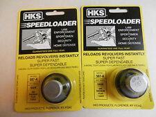 HKS Speedloader;  587-A;  7-Shot;  357 Mag;  2 Pack;  Fast & Dependable