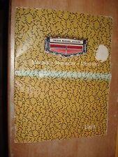 1969 FORD LINCOLN SALES CATALOG DEALER BROCHURE RARE! COUGAR CONTINENTAL