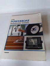 Clymer Powerboat Maintenance Manual B700  Lot 202