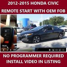 Plug And Play Remote Start Fits 2012 2015 Honda Civic Fits Honda
