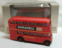 EFE 1:76 SCALE AEC REGENT DOUBLE DECKER - LONDON TRANSPORT - DURACELL - BOXED