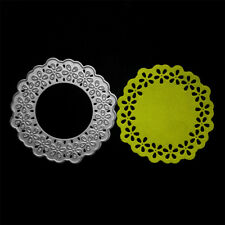 Round Lace Frame Metal Cutting Dies For DIY Scrapbooking Album Cards Making HH