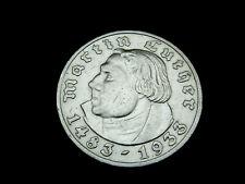 Dt.-Reich, 3. Reich, 5 Reichsmark, 1933 A, M. Luther, J.-352, Silber, vz/St.!