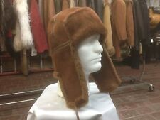 100% shearling Russian Ushanka trooper hat Merina light weight