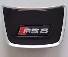 Audi A6 4G original RS6 Lenkradclip C7 Logo Clip Schriftzug Emblem Lenkrad