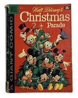 Walt Disney's CHRISTMAS PARADE giant comic No 9 1958 Ungraded Vtg
