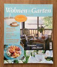Wohnen & Garten Zeitschrift - Ausgabe August 2016 - Sommer am Meer, Gladiolen