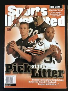 April 19 1999 Sports Illustrated Cleveland Browns Tim Couch Akili Smith NO LABEL