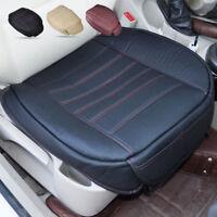 Auto Sitzbezüge PU Leder Sitzmatte SCHWARZ Sitzkissen für VW Audi Mercedes LKW