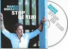 MARCO BORSATO - Stop de tijd CD SINGLE 2TR DUTCH CARDSLEEVE 2008