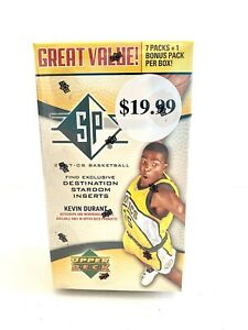 2007-08 UPPER DECK SP BASKETBALL FACTORY SEALED BOX 8 packs in the box RARE!!
