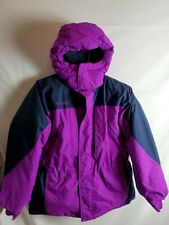 Columbia Womens Hooded Winter Snow Ski Coat Down Jacket Size Large