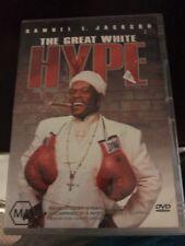 THE GREAT WHITE HYPE - DVD R4 (2005) Samuel L. Jackson - VG - FREE POST
