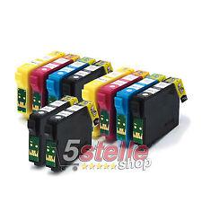 KIT 10 CARTUCCE COMPATIBILI CON CHIP PER STAMPANTE EPSON STYLUS SX235W SX235 W