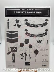 Stampin' Up! - Stempelset - Geburtstagsfeier - 150197 - GEBRAUCHT