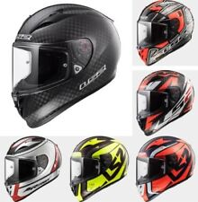 LS2 ARROW C EVO FF323 FULL FACE ROAD RACE CARBON MOTORCYCLE BIKE HELMET