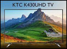 "New 43"" KTC K430UHD Real 4K UHD TV 60Hz 3840x2160 HDMI LED TV Monitor"