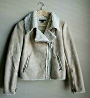 Forever 21 Shearling Tan Jacket Women's Size Small