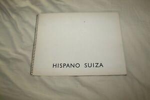 (MN2/A) Brochure HISPANO SUIZA