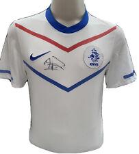 Signed Louis Van Gaal Netherlands Away Shirt Barcelona Manchester United Ajax