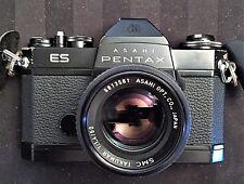 ASAHI PENTAX BLACK ELECTRO SPOTMATIC MODIFIED (ES) w/f/4 50mm SMC TAKUMAR LENS