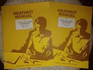 Heathkit Manual H19A - TO - H-88A CONVERSION Model H-19-3 Manual A & B