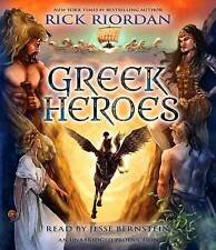 Percy Jackson's Greek Heroes by Riordan, Rick CD-AUDIO