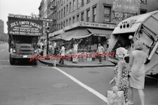 New York City-Village, street corner life-8 x 12 inch photograph