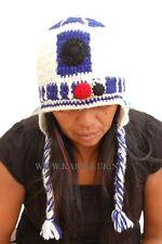 Unisex Wool Knit Festive R2D2 Novelty Hat