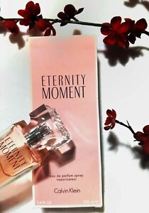 Eternity Moment by Calvin Klein -  3.4 oz 100ml NEW in BOX