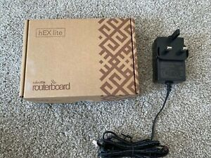 MIKROTIK ROUTERBOARD hEX LITE ROUTER 10/100 5 PORT - RB750r2
