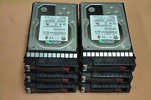 Lot of 12 - HP 3TB 6G DP 7.2K SAS MDL Hot Plug Hard Drive 625031-B21/625140-001