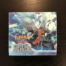 Pokemon TCG EX Crystal Guardians Booster Box, Display selten rare, deutsch OVP!