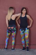 Vintage Game Leggings-Women's Leggings, Yoga Leggings, Workout Leggings