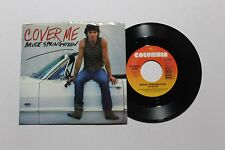 bruce springsteen cover me 45 columbia 04561 us 1984 nm-picture sleeve b2