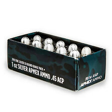 1 oz Silver Bullet - .45 Caliber ACP 10-Round Range Pack - SKU #92437