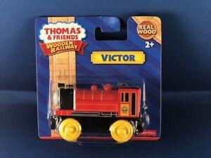 THOMAS & FRIENDS WOODEN RAILWAY VICTOR ENGINE NIP