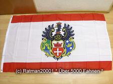 Banderas bandera Prusia oriental Königsberg - 90 x 150 cm