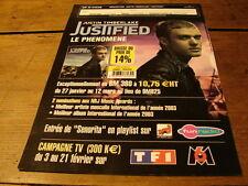 JUSTIN TIMBERLAKE JUSTIFIED BOOSTING!!!FRENCH PRESS/KIT