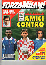 FORZA MILAN!=N°6 1996=GUIDA A EURO 96=GEORGE WEAH=TABAREZ
