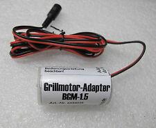 Grillmotor-Adapter für Batterie Grillmotor 1,5V Batteriemotor NEU Drehspieß